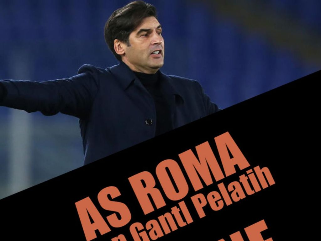 AS Roma Bersiap Ganti Pelatih, De Bruyne Absen 4 Minggu