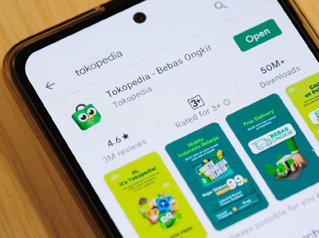 Tokopedia e-Commerce yang Paling Banyak Dikunjungi pada Januari 2021