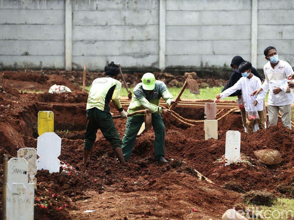 Lahan Permakaman Baru untuk Jenazah Pasien COVID di TPU Bambu Apus Penuh