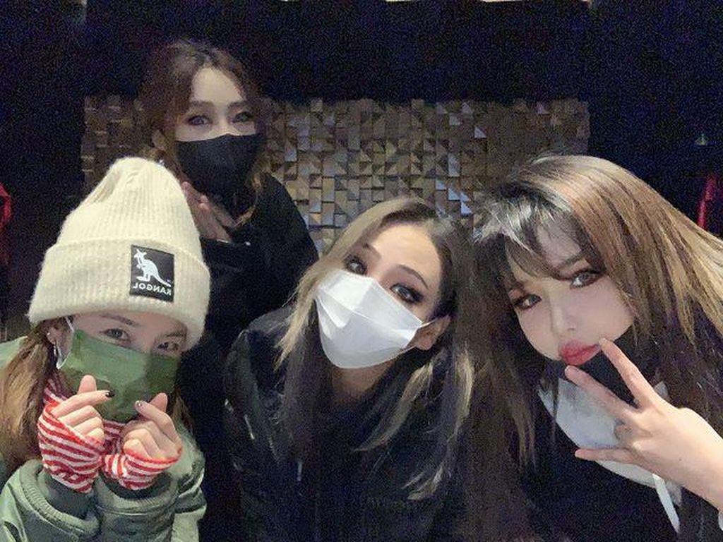 2NE1 Reuni untuk Rayakan Ultah Minzy