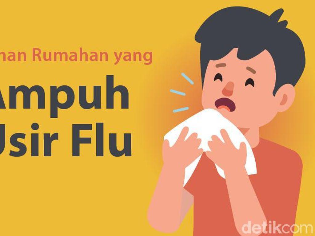 Bahan Sehari-hari yang Ampuh Menangkal Flu di Musim Hujan