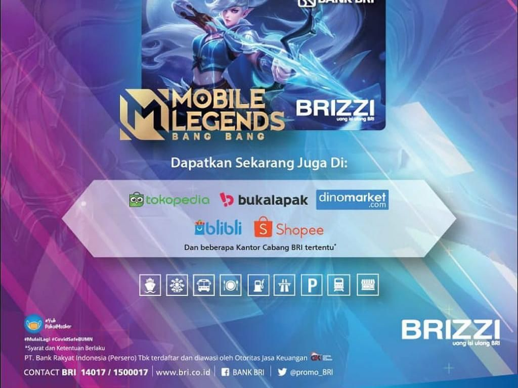 Rangkul Fans MOBA, BRI Luncurkan BRIZZI Special Edition Mobile Legend