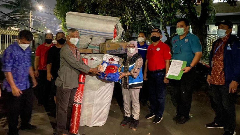 Kemensos Salurkan Bantuan untuk Korban Kebakaran