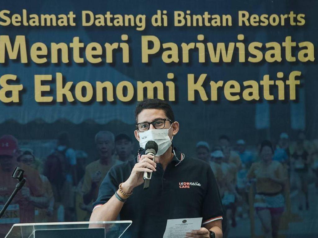 Sandiaga Bicara Teknis Kunjungan Turis Singapura ke Batam dan Bintan