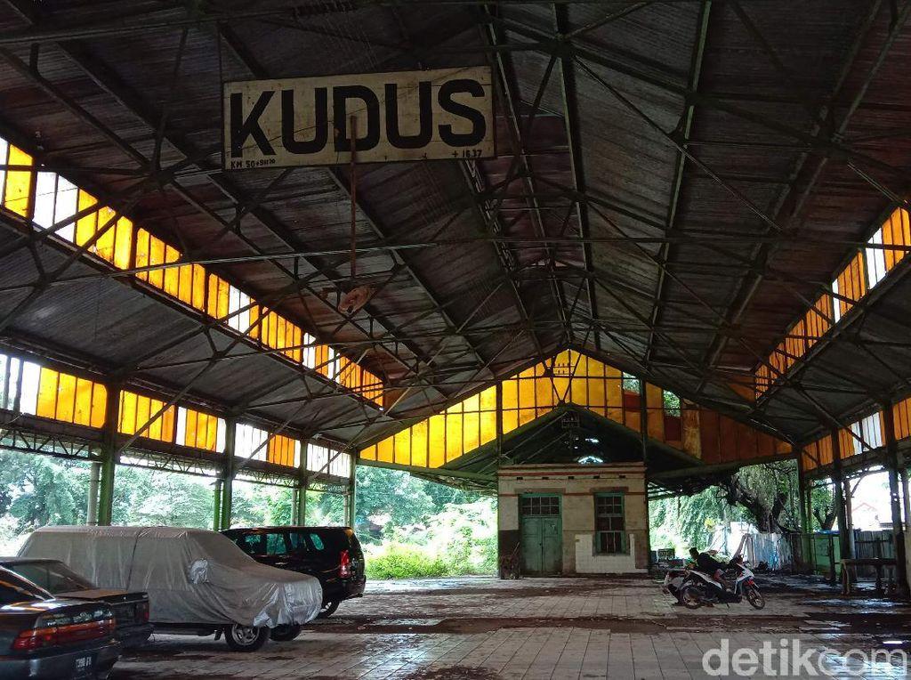 Stasiun KA Kudus Ini Jadi Saksi Bisu Serbuan Peluru Agresi Militer Belanda