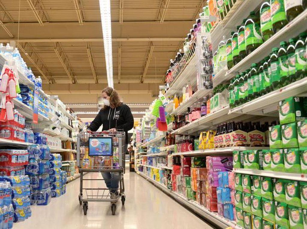 Setahun Pandemi, Penjualan Supermarket Mulai Landai