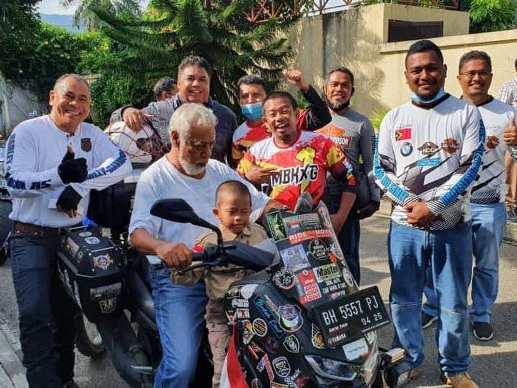 All New Nmax Digeber ke Timor Leste, Curi Perhatian Mantan PM Xanana Gusmao