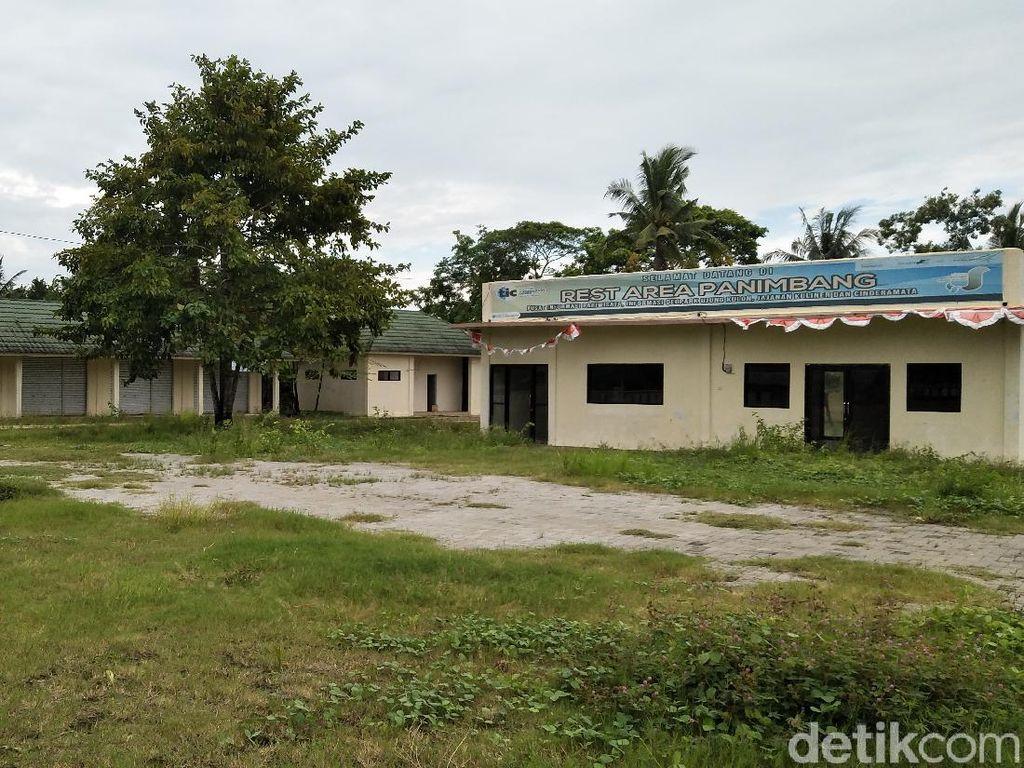 Rest Area Panimbang Ditinggal Pedagang, Ini Kata Pemkab Pandeglang