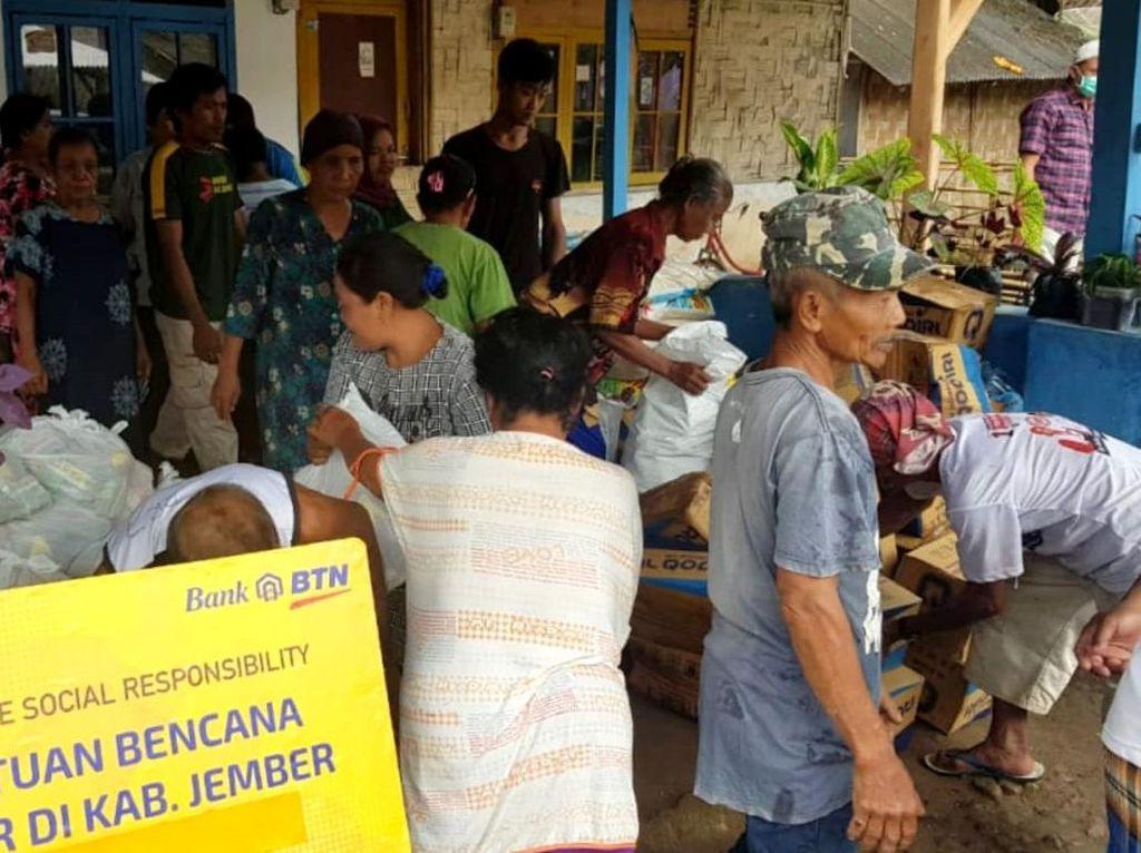 REI dan BTN Bantu Korban Banjir Jember