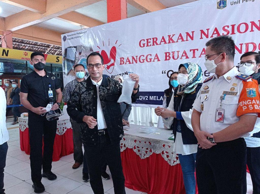 GeNose Juga Akan Dipakai Deteksi Corona di Terminal Pulo Gebang-Kp Rambutan