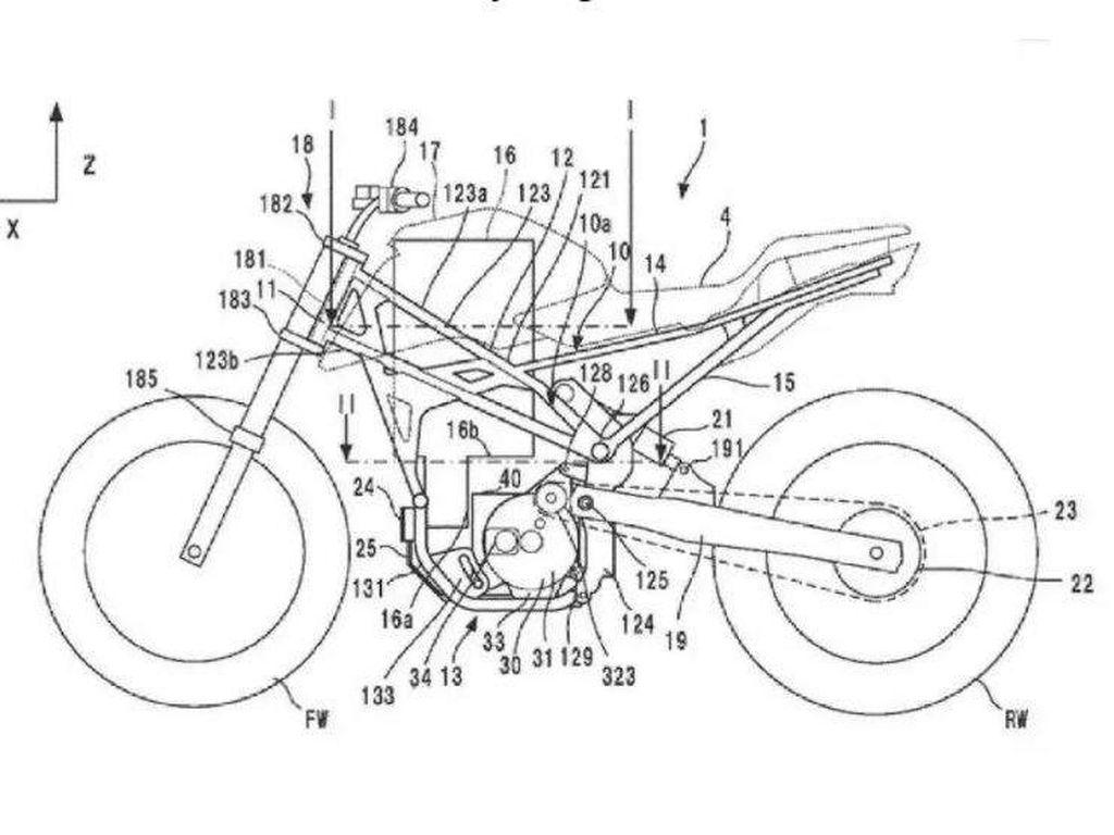 Detail Terbaru Calon Motor Listrik Honda