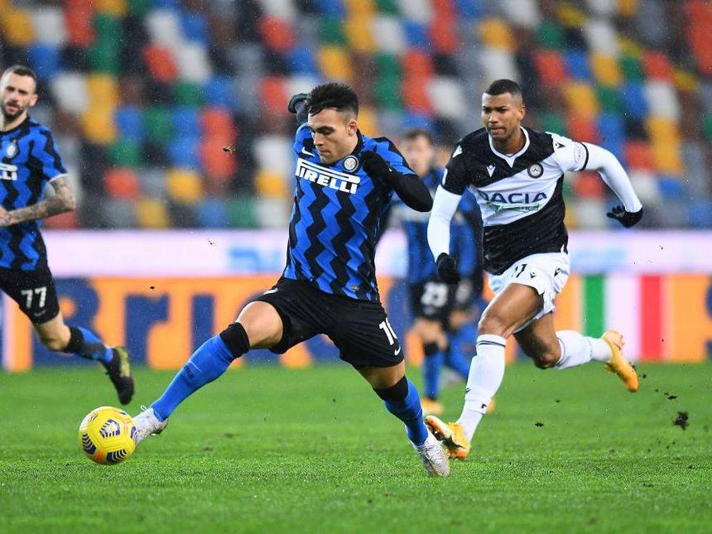 Udinese Vs Inter Milan: Nerazzurri Diredam 0-0