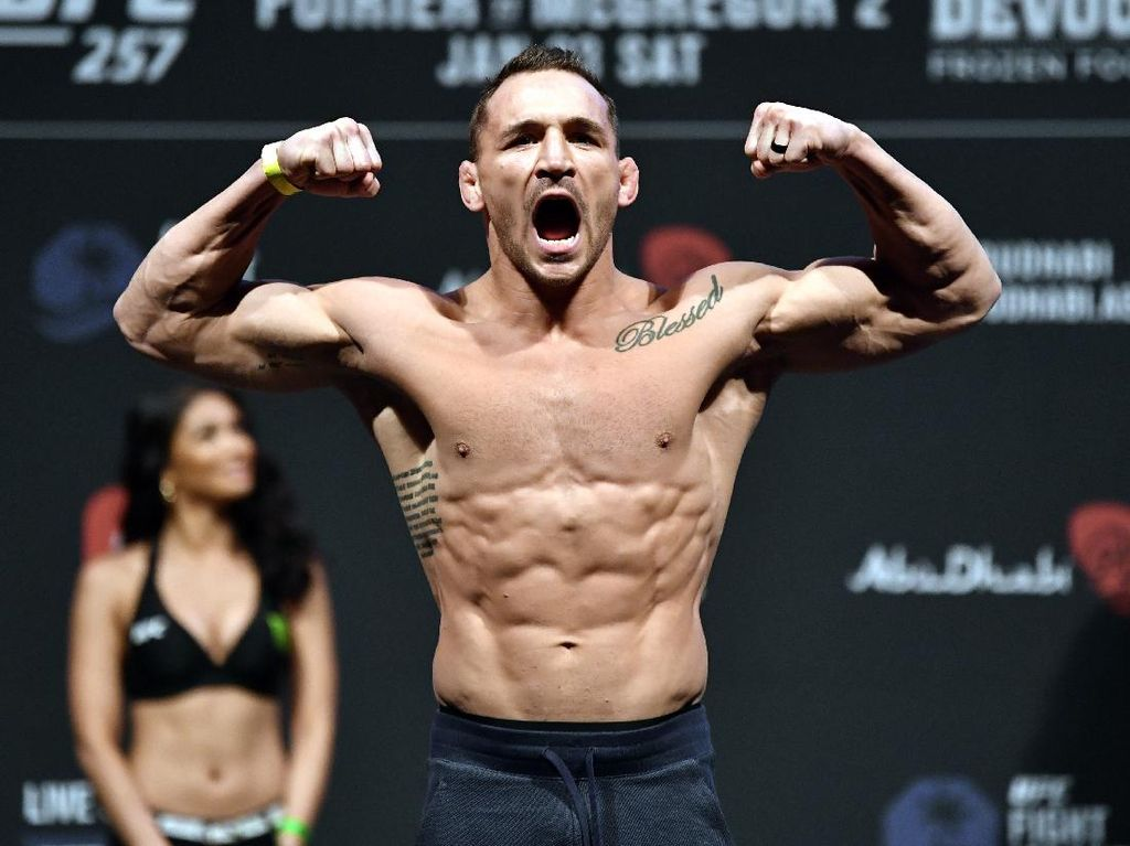 UFC 257: Debut Sensasional Michael Chandler