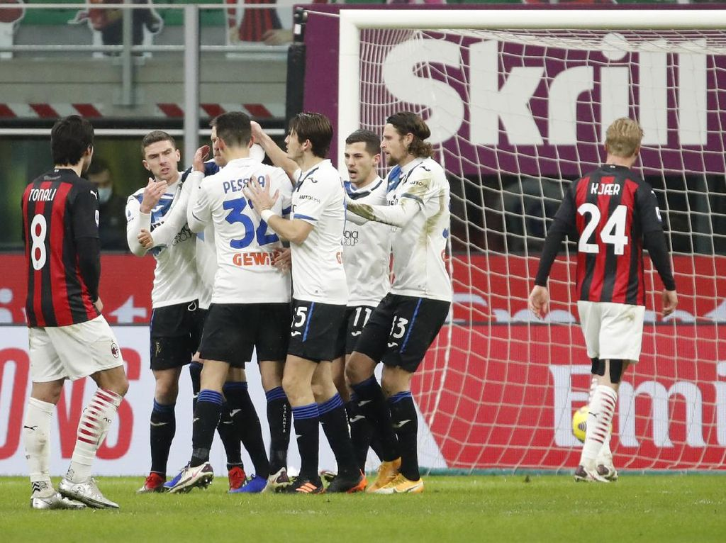 AC Milan Vs Atalanta: Video Gol-gol Saat Rossoneri Dibantai 0-3