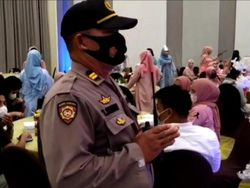 Acara Produk Kosmetik di Makassar Langgar Prokes, Polisi Bubarkan Peserta