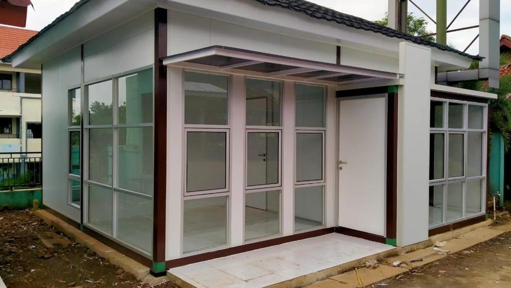 Intip Rumah yang Dibangun Pakai Teknologi Baja Tahan Gempa