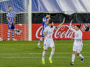 Alaves Vs Madrid: Los Blancos Menang 4-1