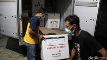 7.440 Vial Vaksin Corona Tiba di Blora dengan Pengawalan Ketat