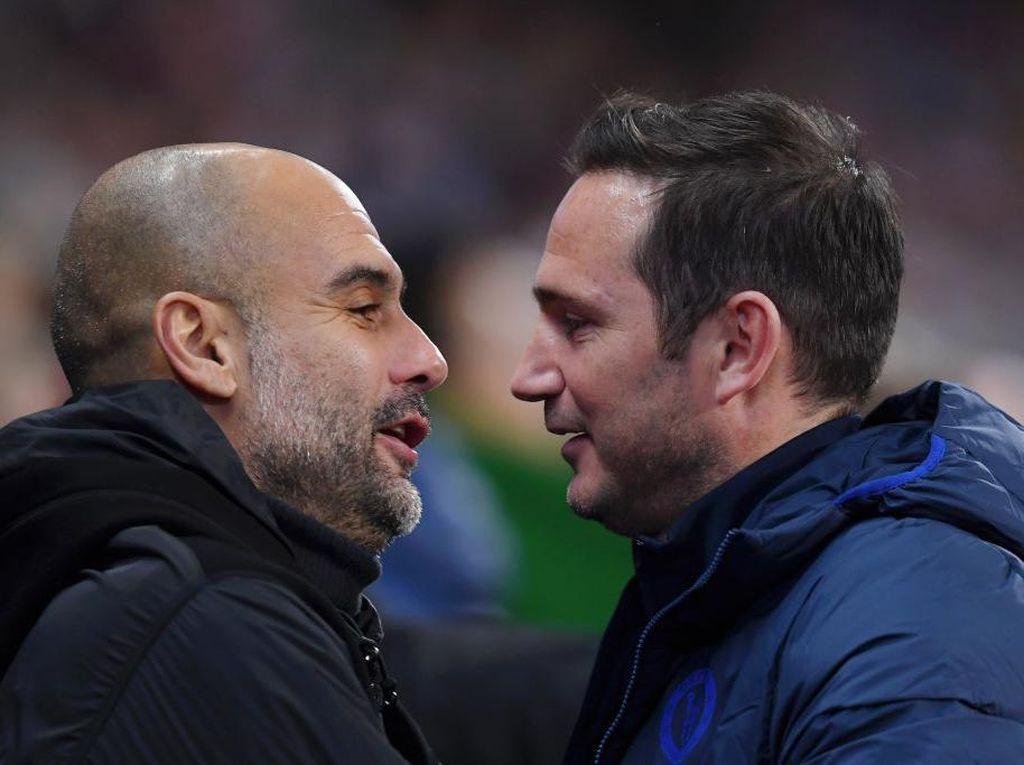 Simpati Guardiola untuk Lampard: Proyek Jangka Panjang itu Tak Ada!