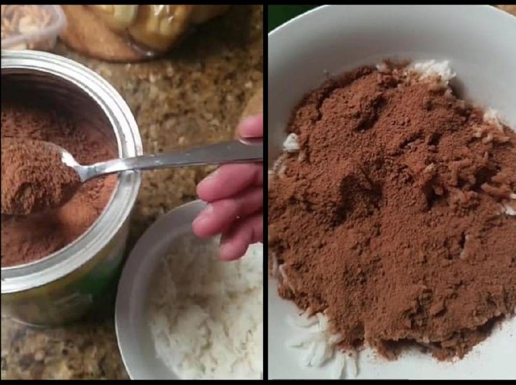 Aneh Banget! Pria Ini Hobi Makan Nasi Pakai Milo
