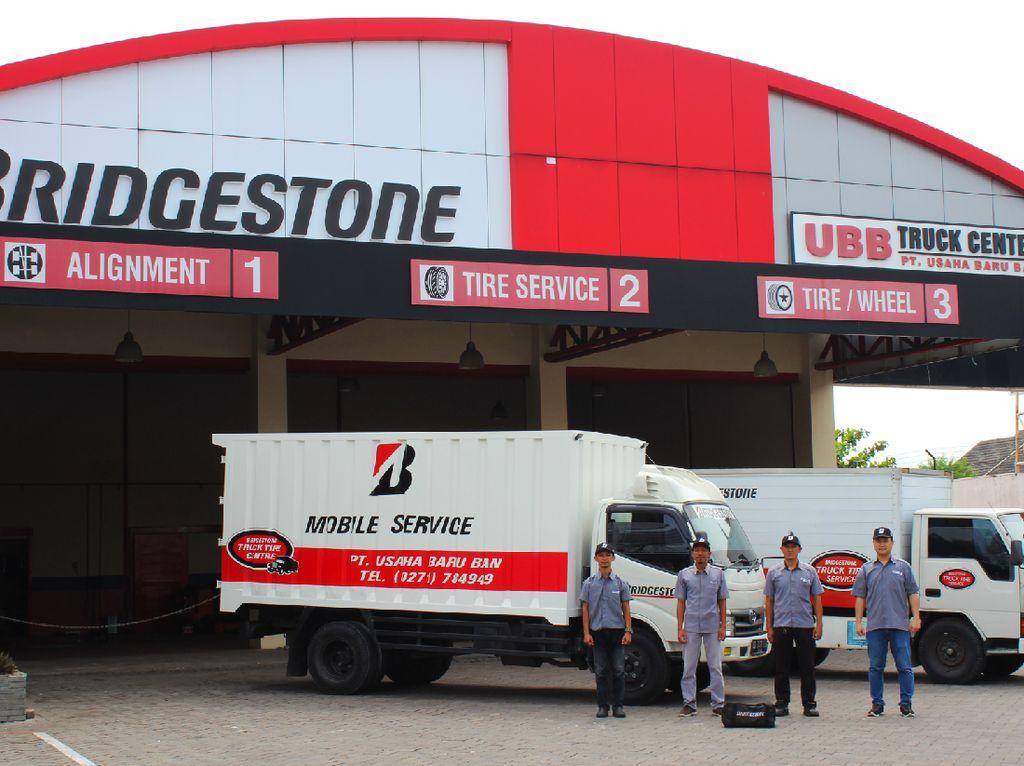 Bridgestone Tambah Layanan Mobile Service untuk Pemilik Bus & Truk