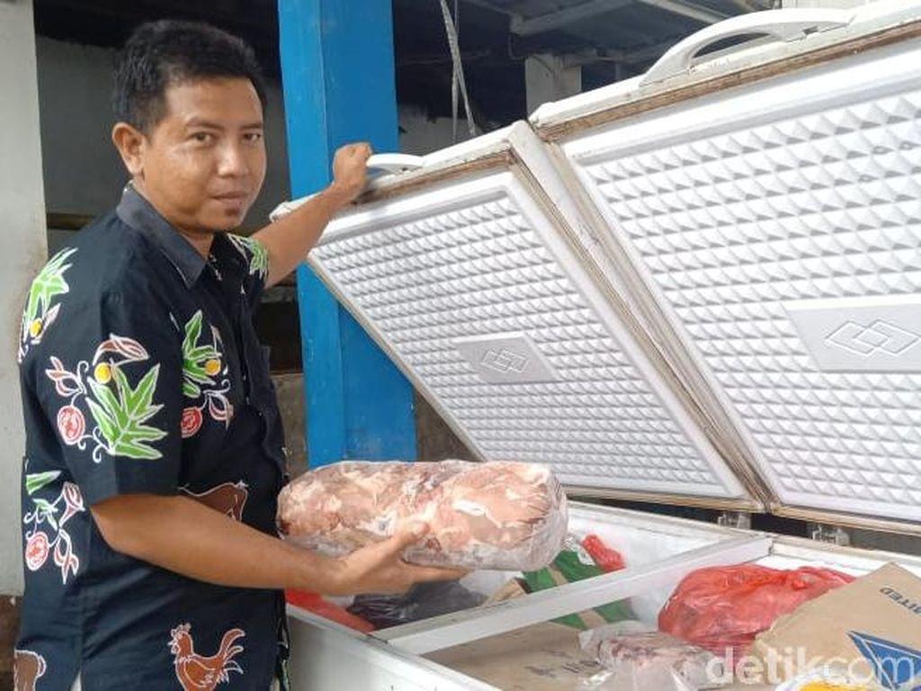 Cerita Distributor di Cirebon Kena Imbas Naiknya Harga Daging Sapi
