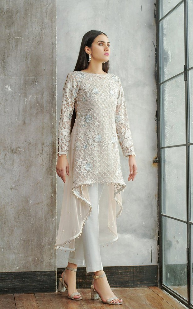 Embroidered tunik with cullot