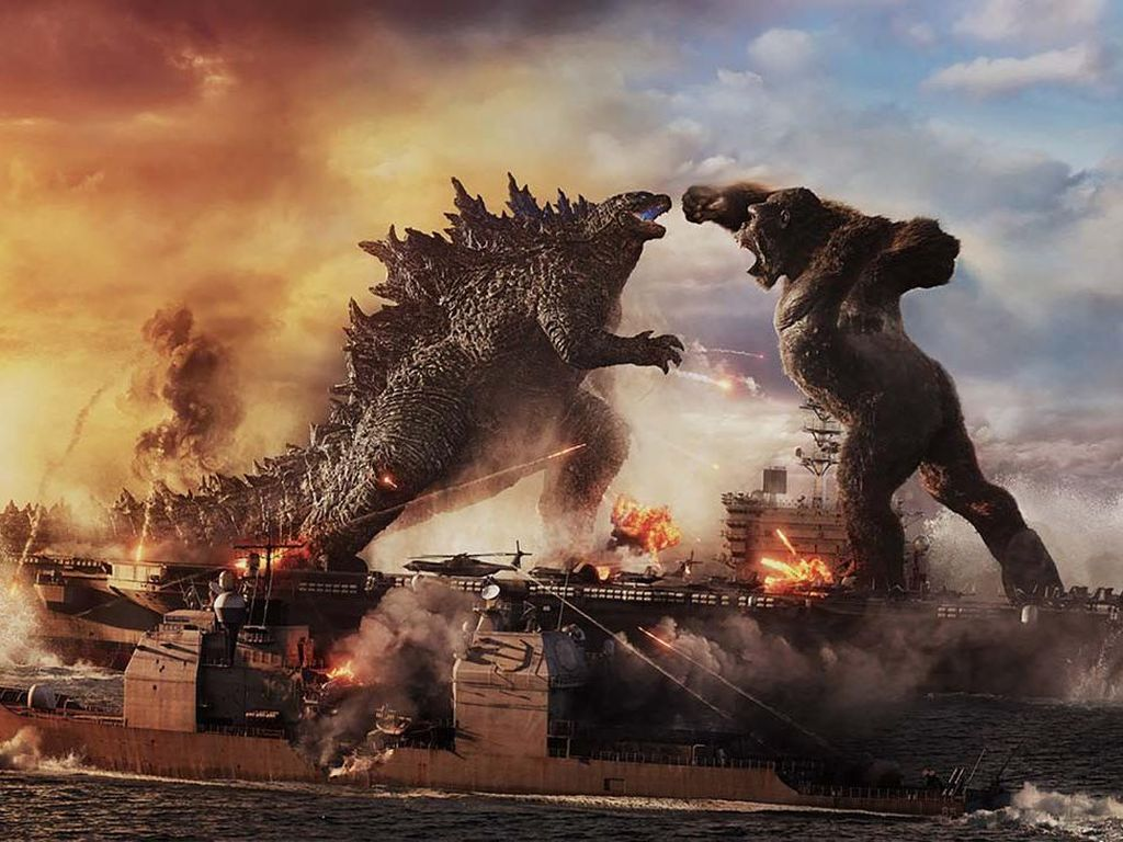 Godzilla vs. Kong: Pertarungan Dua Legenda yang Memuaskan