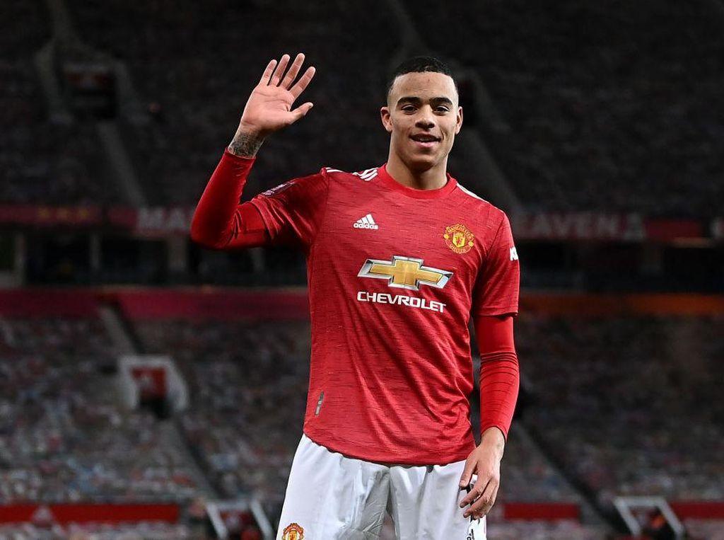 Manchester United Vs Liverpool: Leganya Mason Greenwood