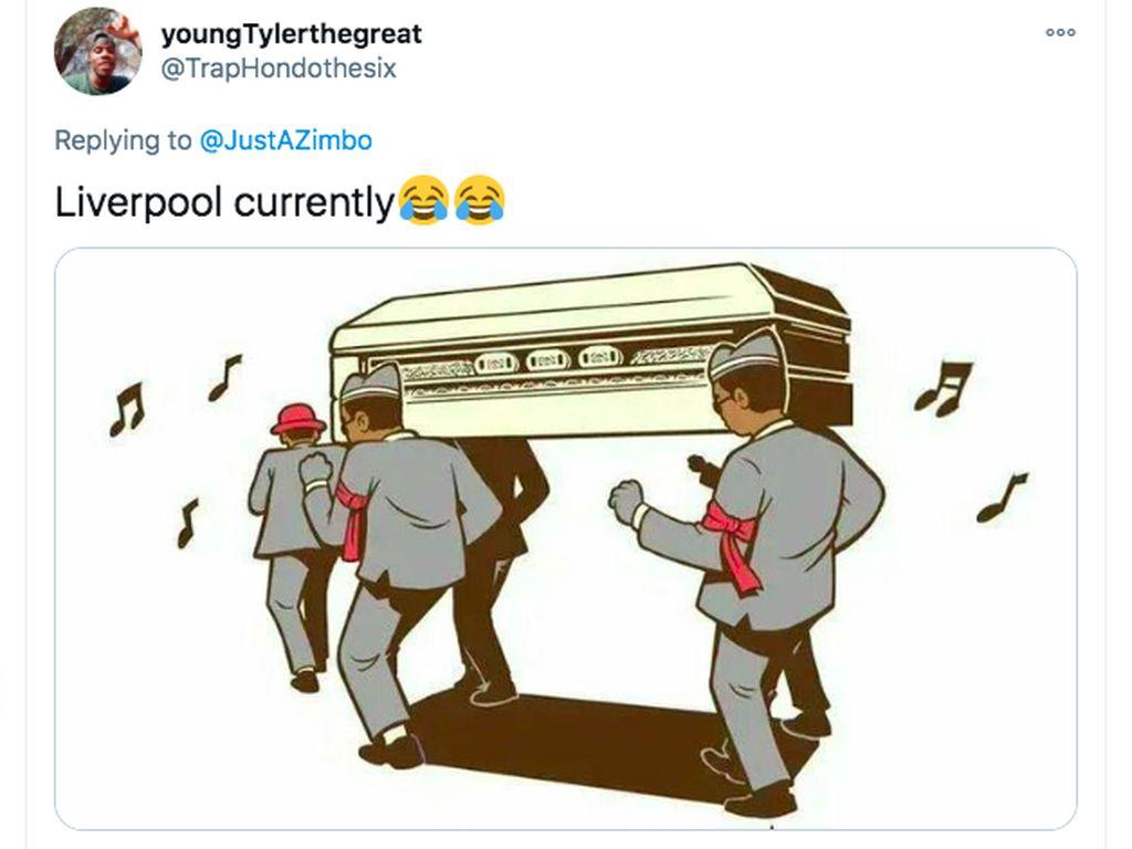 Meme Lucu Liverpool Dikandaskan MU