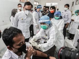 2.263 Tenaga Kesehatan di Kota Bogor Sudah Divaksin COVID-19
