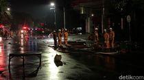 Pipa Gas Bocor, Pom Bensin di Surabaya Nyaris Terbakar