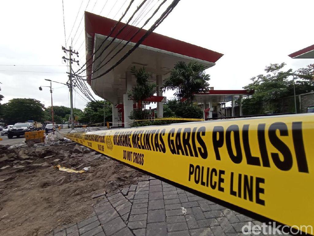 Polisi Selidiki Pipa Gas Bocor yang Nyaris Bakar SPBU Margomulyo Surabaya