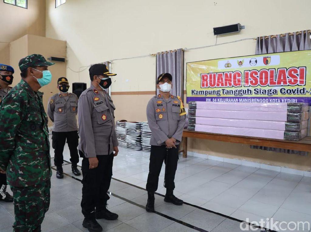 Kota Kediri Siap Perpanjang PPKM, Kampung Tangguh Semeru Diperkuat