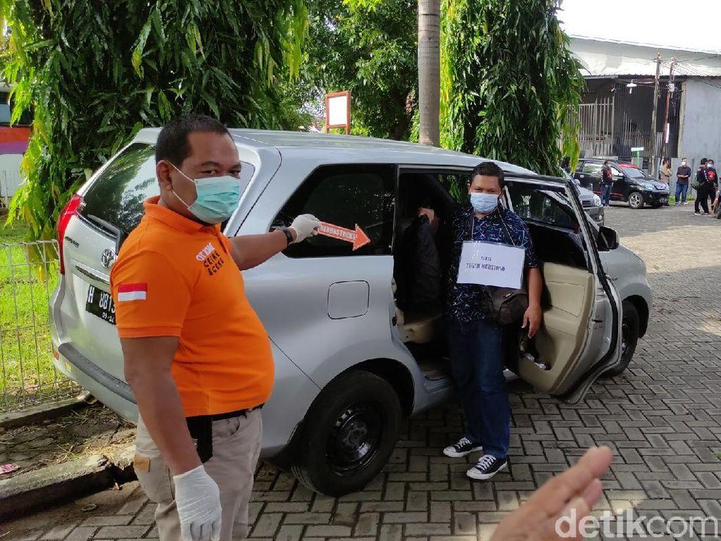 Detik-detik Rampok Setengah Miliar Semarang Lepaskan Tembakan Direka Ulang