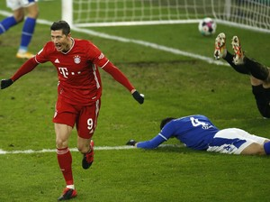 Top! Robert Lewandowski Bikin Rekor Lagi di Bundesliga