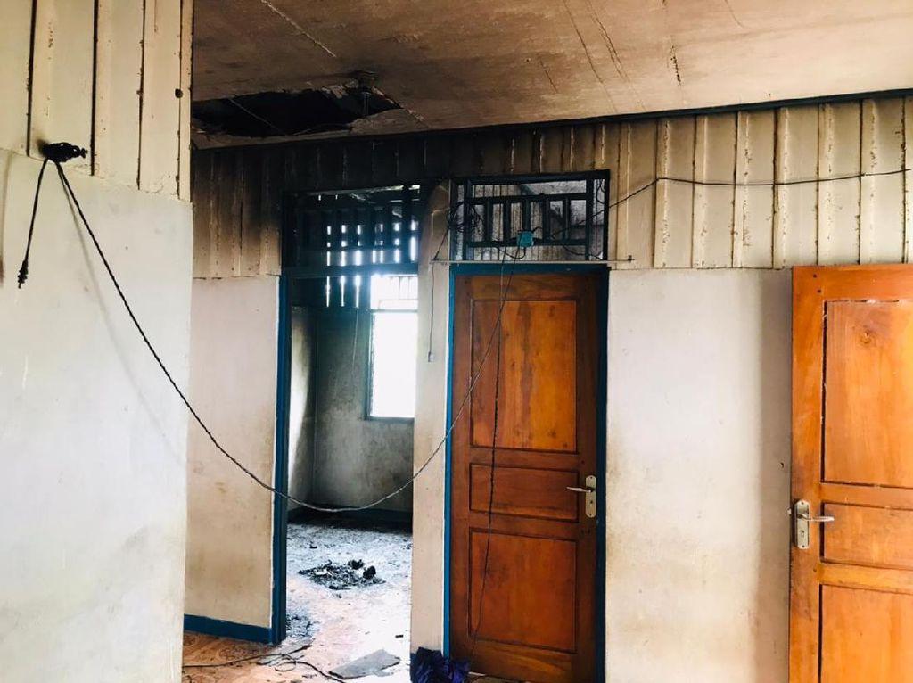Rumah Ketua KPU Yahukimo Dibakar, Polisi Duga Terkait Pilkada 2020