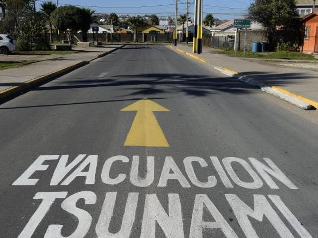 Salah Kirim Peringatan Tsunami, Pemerintah Chile Picu Panik Massal