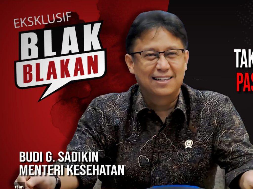 Menkes Blak-blakan Vaksinasi, Indonesia Lebih Baik dari Malaysia