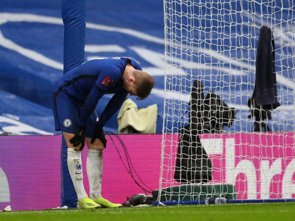 Timo Werner Gagal Penalti, Lampard Bersimpati