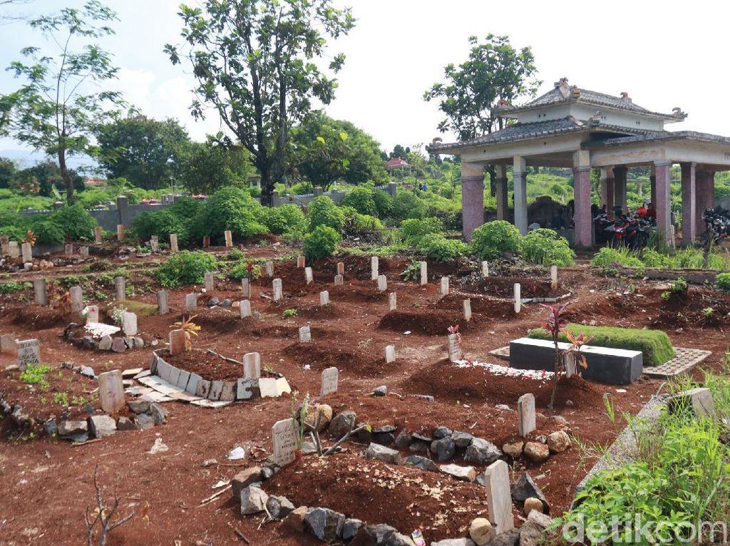 Terungkap, 999 Makam di TPU Cikadut Bandung Hanya 258 yang Positif Corona