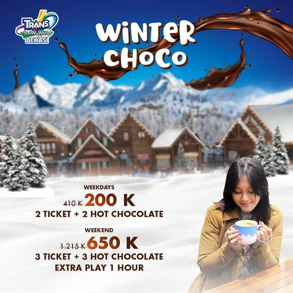 trans snow world tiket promo