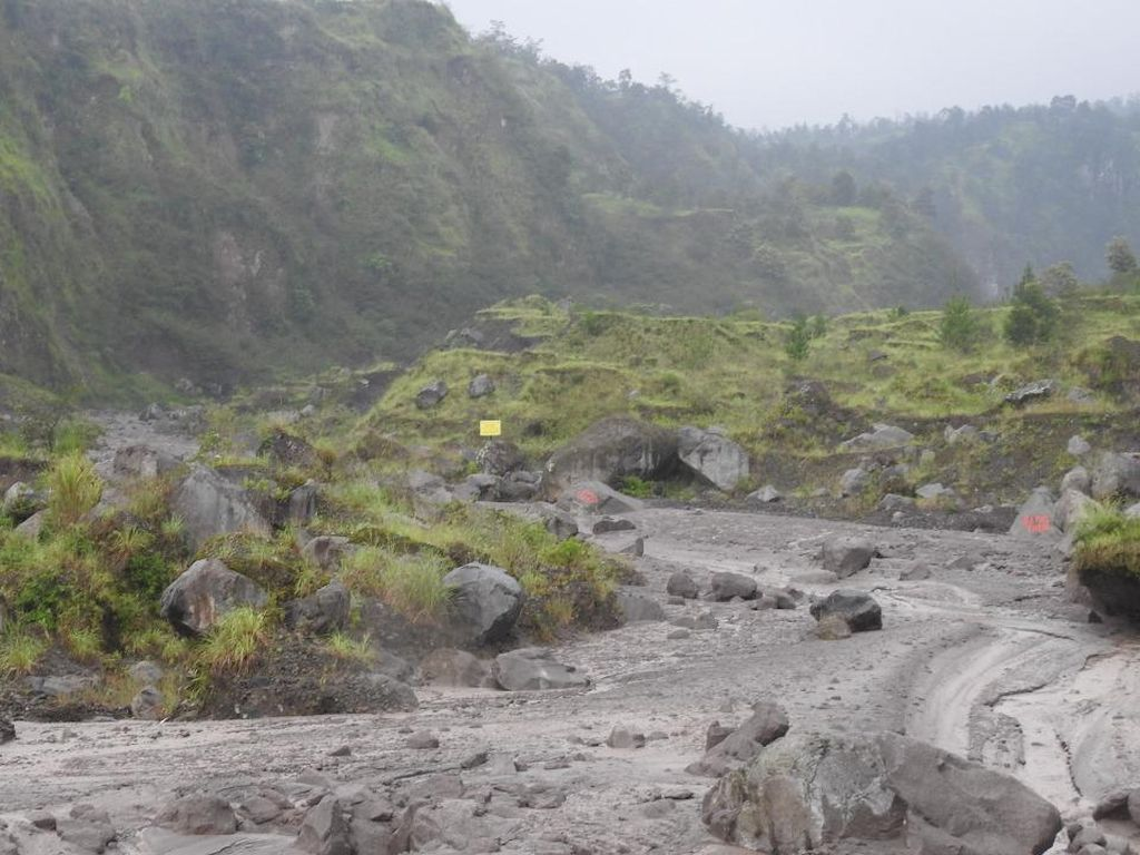 Banjir Lahar Hujan Merapi di Sungai Woro Klaten, Warga: Pertama Sejak Siaga