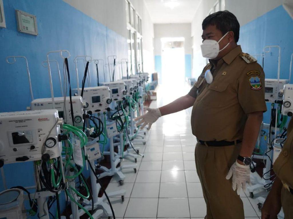 Tangani Pasien Corona, RSUD Garut Siapkan Alat Kesehatan Karya LIPI