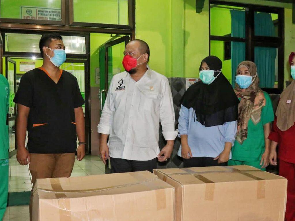 Ketua DPD Puji Gerak Cepat TNI AL Kirim Bantuan APD ke Mamuju