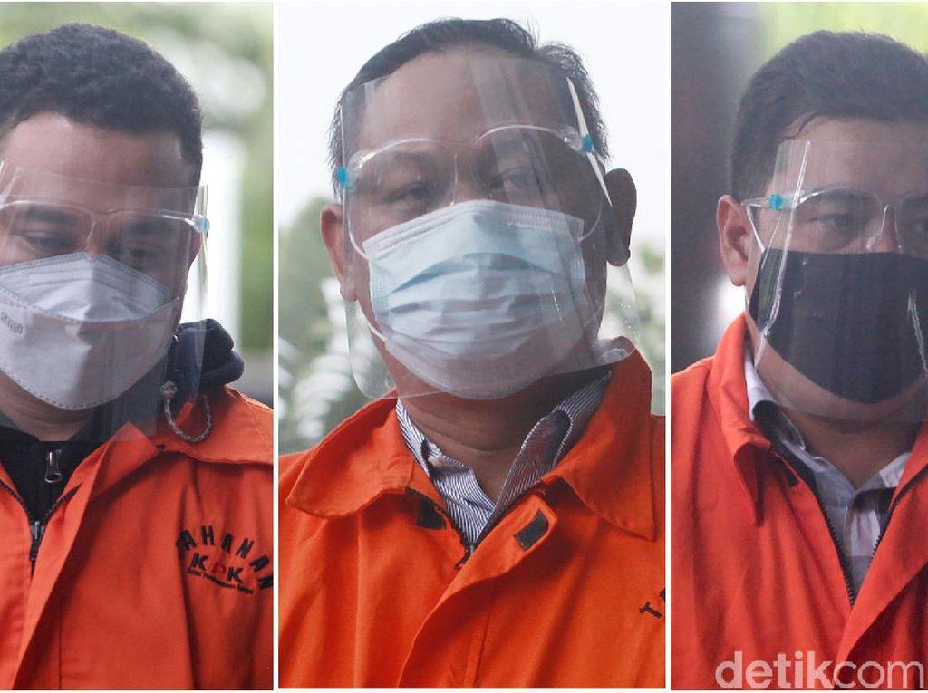 Ini Tampang Tiga Tersangka Korupsi Dana Bansos