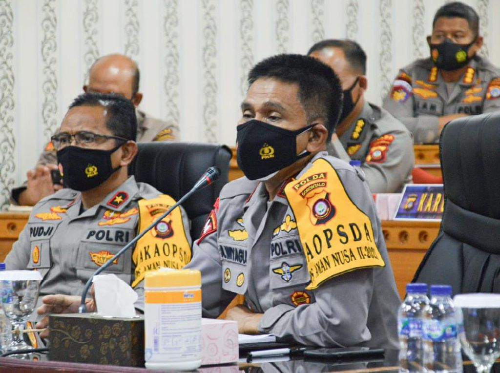 Kapolda Gorontalo Minta Oknum Polisi Rekam Wanita Dilecehkan Dilimpahkan ke JPU