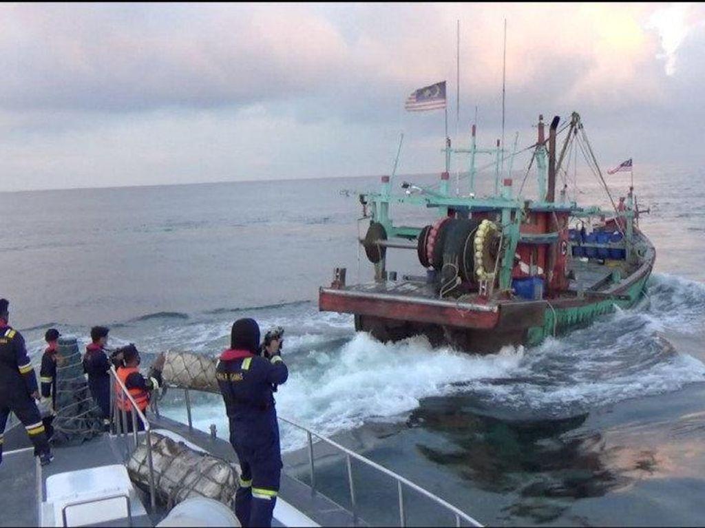 KKP Tangkap 3 Kapal Pencuri Ikan di Selat Malaka, 2 dari Malaysia