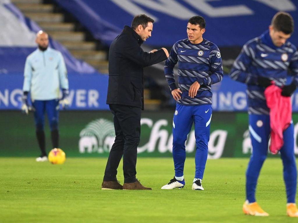 Cerita Thiago Silva Dapat Kejutan dari Lampard Usai Gabung Chelsea