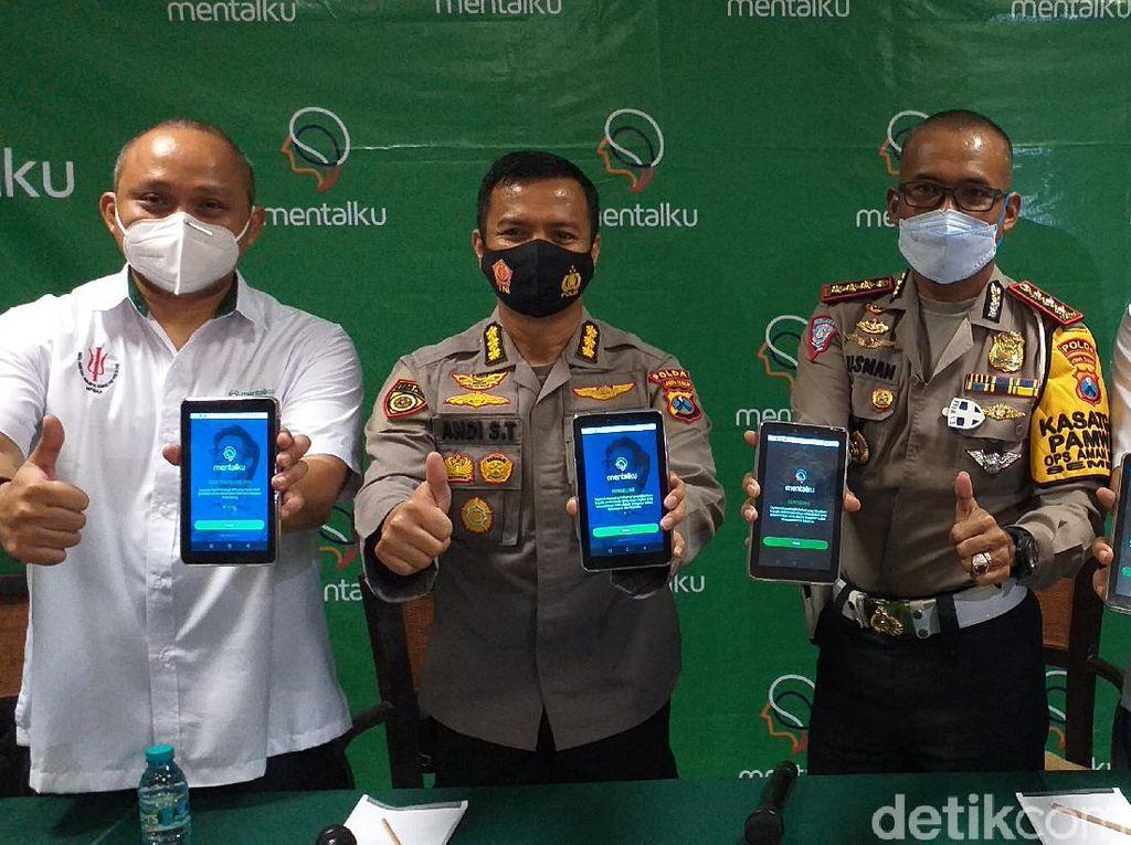 Permudah Tes Psikologi Pembuatan SIM di Jatim, Polisi Launching Aplikasi ini